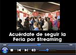 Recuerda seguir la Feria por streaming
